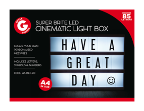 LED Cinematic Light Box A4
