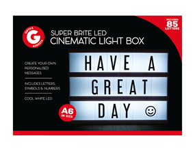 LED Cinematic Light Box A6