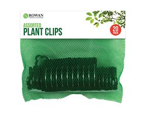 Assorted Plant Clips - 20 Pack