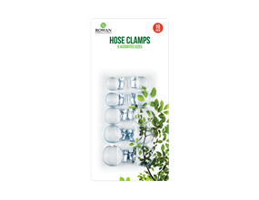 Assorted Hose Clamps - 10 Pack