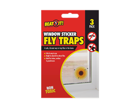 Window Sticker Fly Traps