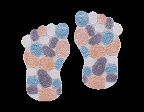 Wholesale Mosaic Feet Stepping Stone | Gem Imports Ltd