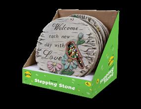 Round Garden Stepping Stone