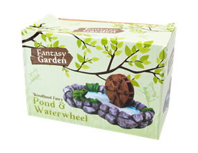 Wholesale Fairy Garden Pond & Waterwheel | Gem Imports Ltd