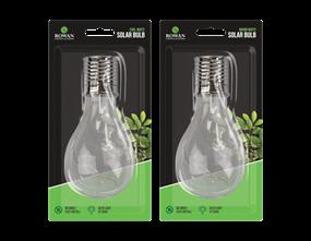 Solar LED Clear Bulb Light