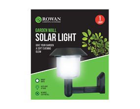 Wholesale Garden Wall Solar Lights | Gem Imports Ltd