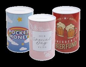 Wholesale Novelty Money Tins | Gem Imports Ltd