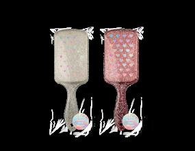 Wholesale Glitter Paddle Hair Brushes | Gem Imports Ltd