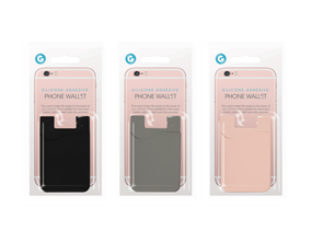 Wholesale Silicone Adhesive Phone Wallet | Gem Imports Ltd