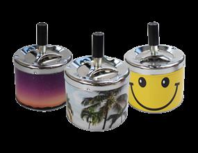 Wholesale Novelty Spinning Ashtrays   Gem Imports Ltd