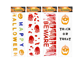 Halloween Gel Stickers