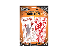 Halloween Decorative Door Cover
