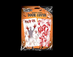 Halloween Decorative Door Cover