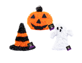 Wholesale Halloween Tinsel Table Decorations | Gem Imports Ltd