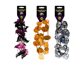 Halloween Holographic Garland