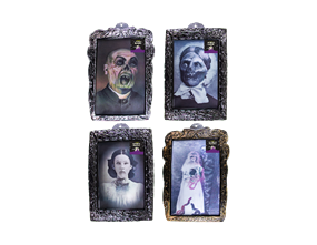 Wholesale Lenticular Halloween Horror Plaque | Gem Imports Ltd