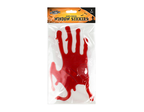 Halloween Bloody Hands Window Stickers