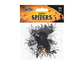 Halloween Spiders - 40 Pack