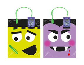 Halloween Trick or Treat Loot Bag