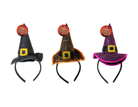 Wholesale Halloween Witches Headbands | Gem Imports Ltd
