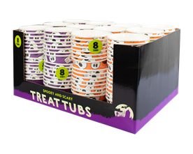 Halloween Treat Tubs