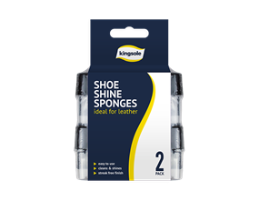 Shoe Shine Sponges - 2 Pack