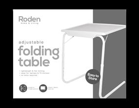 Wholesale Adjustable Folding Tables | Gem Imports Ltd