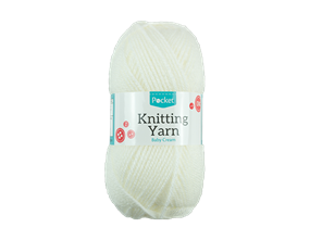 Baby Cream Knitting Yarn 50g