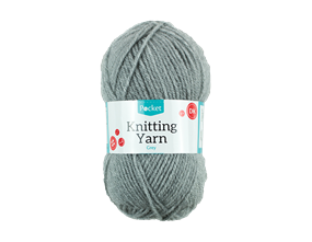 Grey Knitting Yarn 50g