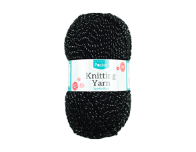 Sparkle White Knitting Yarn 50g
