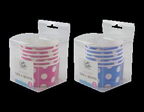 Ice Cream Tubs - 6 Pack