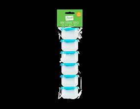 Mini Storage Boxes - 6 Pack