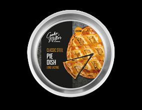 Classic Steel Pie Dish