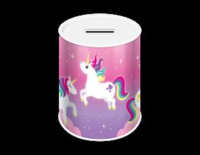 Unicorn Money Tin