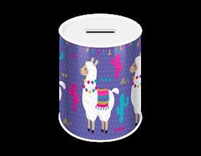 Llama Money Tin