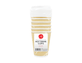 Disposable Hot Drinks Cups 8oz