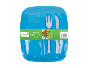 Lunch Box & Cutlery Set