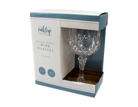 Wholesale Crystal Effect Wine Glasses | Gem Imports Ltd