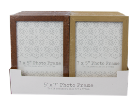Wholesale Wood Effect Photo Frames | Gem Imports Ltd