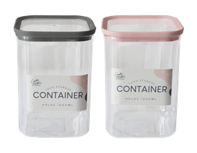 Wholesale PS Storage Container 1000ml | Gem Imports Ltd