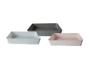 Wholesale A4 Plastic Storage Baskets | Gem Imports Ltd
