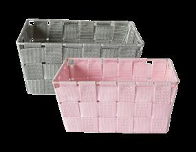 Wholesale Woven Fabric Storage Baskets | Gem Imports Ltd