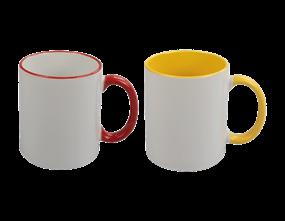 Wholesale Stoneware Two Tone Mugs | Gem Imports Ltd