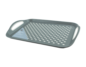 Wholesale Grey Extra Large Anti Slip Serving Trays   Gem Imports Ltd