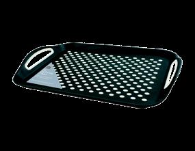 Wholesale White Extra Large Anti Slip Serving Trays   Gem Imports Ltd