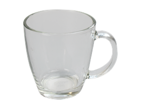 Glass Coffee Cup 350ml