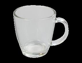 Glass Coffee Cup 350ml
