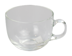 Glass Cappuccino Cup 450ml