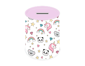 Rainbow/Koala Money Tin
