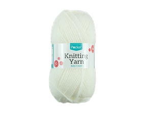 Wholesale Acrylic Baby Cream Knitting Yarn | Gem Imports Ltd